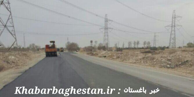 افتتاح جاده نصیر آباد به دهشاد پایین