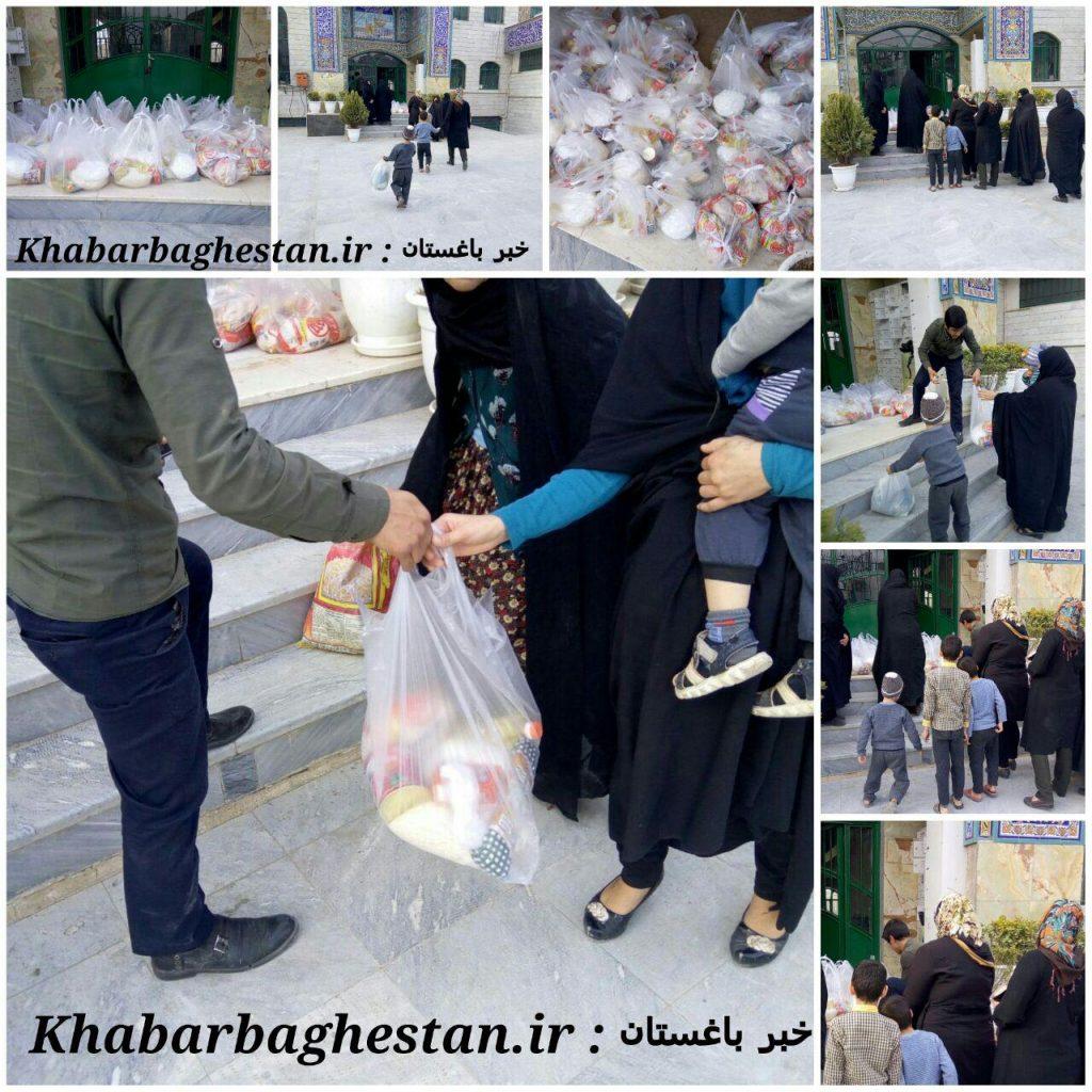 گزارش تصویری ازحمایت های خیرین صنف تولید ظروف یکبارمصرف باباسلمان