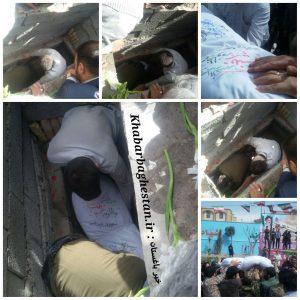 گزارش تصویری از مراسم تشییع شهدای گمنام نصیرآباد