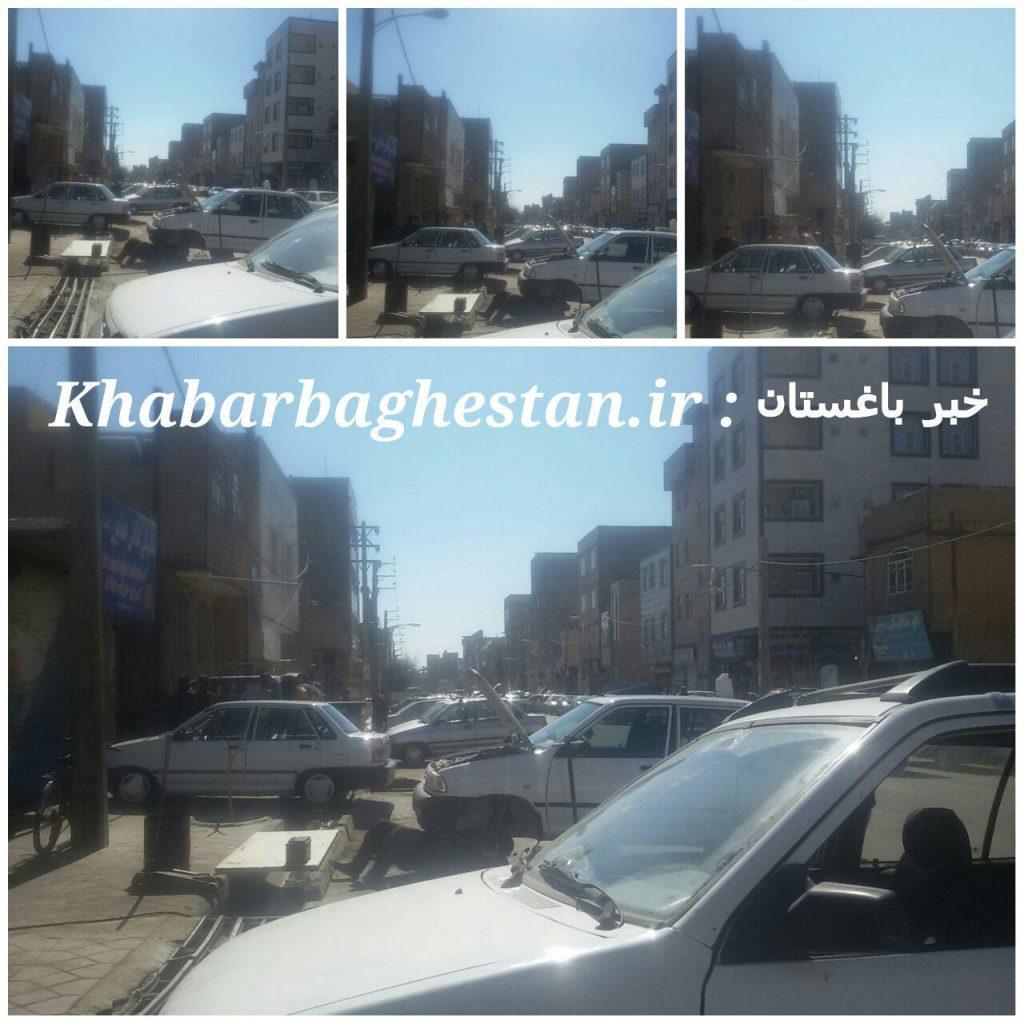 معظل مکانیکی های خیابان امام خمینی(ره) نصیرآباد
