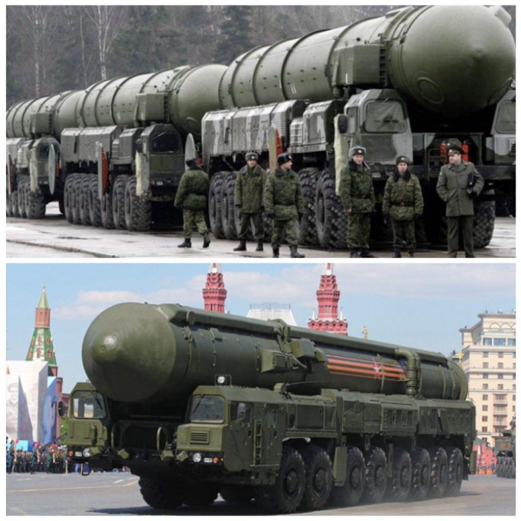 موشک شیطان ۲روسیه قوی ترین موشک هسته ای جهان