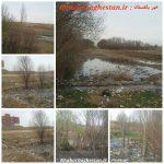 وضعیت اسفناک دفع فاضلاب آبهای جوی در نصیرآبادشهریار با کلی مشکلات زیست محیطی