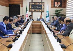 جلسه شورای آموزش و پرورش شهرستان شهریار در باغستان