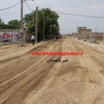 شروع عملیات زیرسازی خیابان لاله هفتم غربی خادم آباد