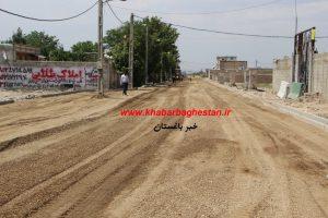شروع عملیات زیرسازی خیابان لاله هفتم غربی