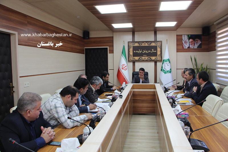  جلسه شورای معاونین و مدیران شهرداری باغستان در ۲۰ مهر ۹۸ برگزار شد
