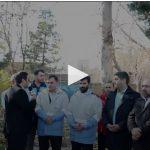 بیست و یکمین مانور زلزله و ایمنی در شهر باغستان و توضیحات آقای عبدالعلی