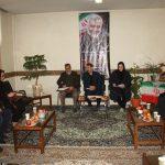 مراسم گرامیداشت سپهبد شهید حاج قاسم سلیمانی در نمازخانه اداره فرهنگ وارشاداسلامی شهریار