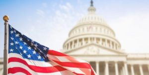 آمریکا - کاخ سفید - پرچم آمریکا