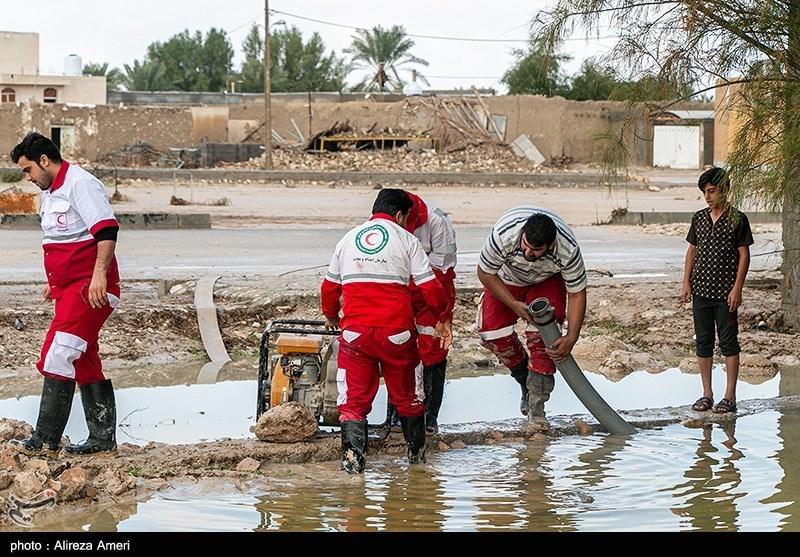 خسارات سیل در لامرد – فارس