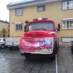 تداوم توسعه و تجهیز سازمان آتشنشانی باغستان با الحاق یک دستگاه خودروی سنگین اطفاء دیگر
