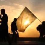 شبیه سازی بین الحرمین و برپایی موکب به مناسبت اربعین حسینی در نصیرآباد