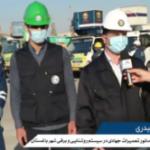 مصاحبه با جانشین طرح جهادی اداره برق برای اصلاح شبکه باغستان
