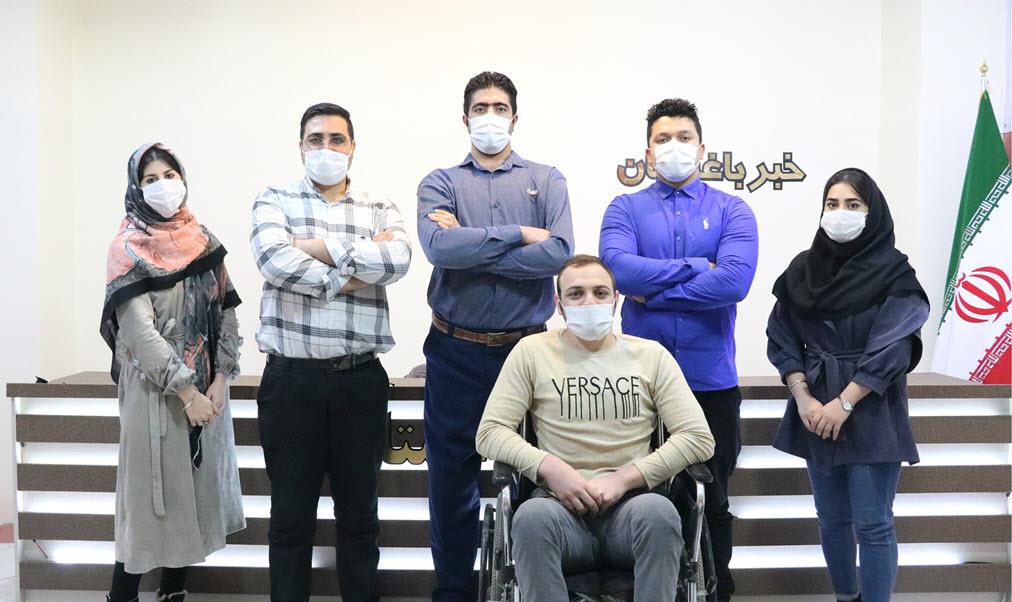 تیم خبری رسانه خبر باغستان
