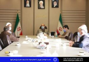 نشست فرماندار شهریار با اعضای هیات امنا مسجد حضرت ولیعصر(عج)/ مساجد پایگاه انسجام مردمی است