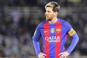 مسی، در پایان خط با بارسلونا