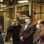 بازدید معاون علمی و فناوری رئیسجمهور از مجتمع صنعتی گلگون