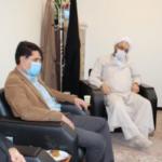 دیدار رئیس محترم اداره ورزش و جوانان شهرستان شهریار با امام جمعه شهر باغستان