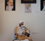 دیدار فرماندهی محترم کلانتری ۱۸باغستان با امام جمعه شهر باغستان