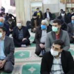 گزارش تصویری نماز جمعه 19 دی شهر باغستان
