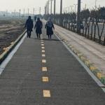 برگزاری آئین افتتاح جاده سلامت جنب بلوار شهید همدانی خادم آباد ـ نصیرآباد