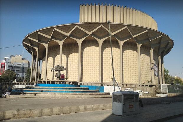 حصر تئاتر شهر با احداث زیرگذر چهارراه ولیعصر