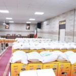 برگزاری آئین توزیع ۶۵۰ بسته معیشتی در بخش جوقین شهریار