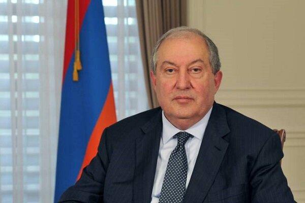 رئیسجمهور ارمنستان در بیمارستان بستری شد