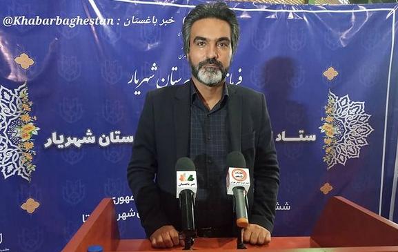 عباس زند (ساکن سعیدآباد) در ستاد انتخابات شهرستان شهریار
