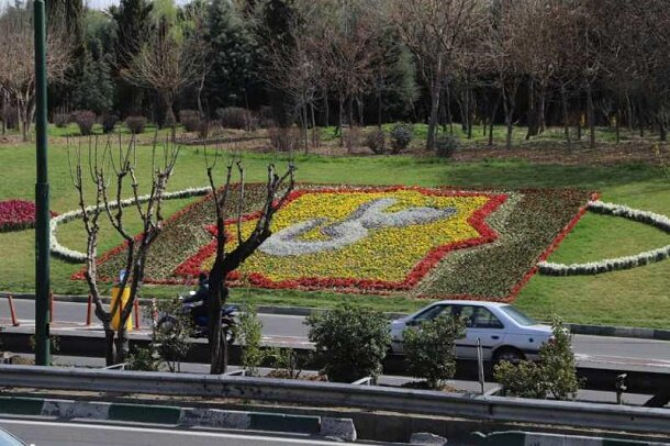 فرش گل در بزرگراههای کردستان، حکیم و مدرس گسترده شد