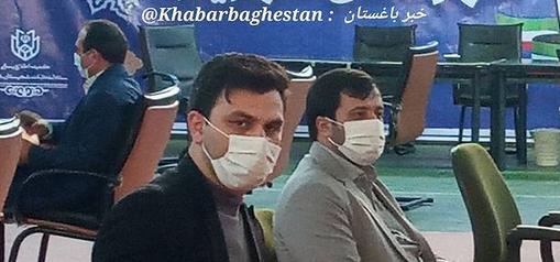 محمد کرمی جهت نام نویسی در ششمین دوره انتخابات شورای شهر باغستان