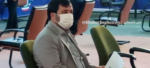 مظفر کوهیان جهت نام نویسی در ششمین دوره انتخابات شورای شهر باغستان