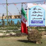 پروژه احداث مقبره شهدای گمنام باغستان در مراحل پایانی قراردارد