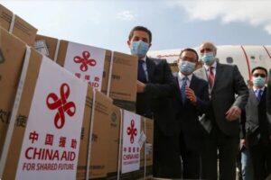 اولین محموله واکسن چینی کرونا در فرودگاه دمشق