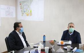 برگزاری جلسه پیگیری تامین اعتبار پروژه بیمارستان امام خمینی(ره) شهریار