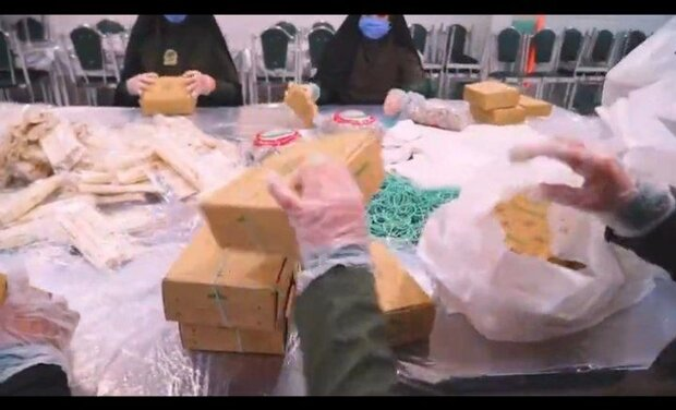 توزیع روزانه ۲ هزار بسته افطاری میان نیازمندان پیشوا