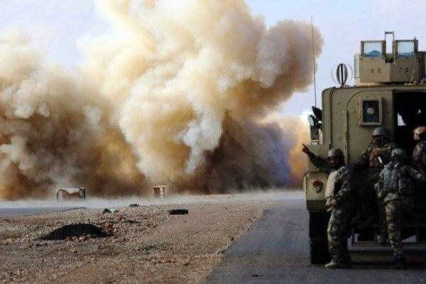 کاروان لجستیک ارتش آمریکا در ناصریه هدف قرار گرفت