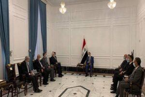 دیدار محمد جواد ظریف با رئیس مجلس عراق