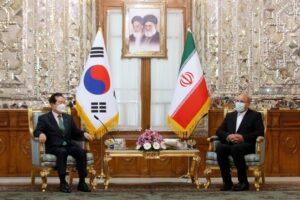 رئیس مجلس شورای اسلامی در دیدار با نخست وزیر کره جنوبی