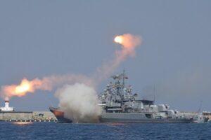 رزمایش دریایی روسیه