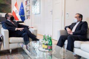 عراقچی و وزیر امور خارجه اتریش
