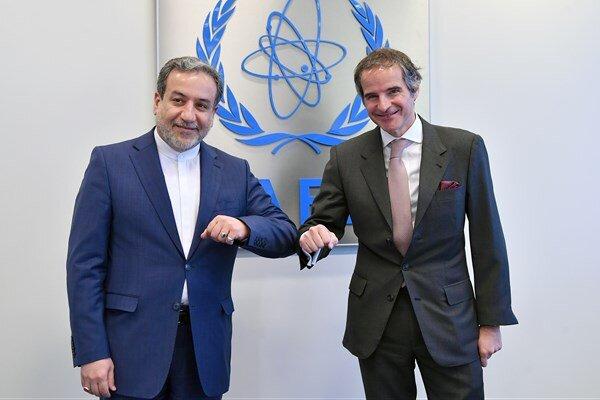 «عراقچی» با مدیرکل آژانس بینالمللی انرژی اتمی دیدار کرد