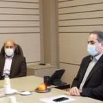 نشست فرماندار شهریار و مدیرکل انتقال خون استان تهران
