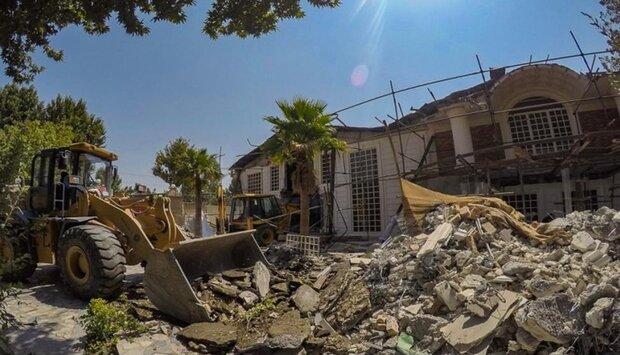 آزادسازی ۱۲۵ هکتار از اراضی زراعی در شهریار/ تخریب ۱۰۰۴ باغ ویلا
