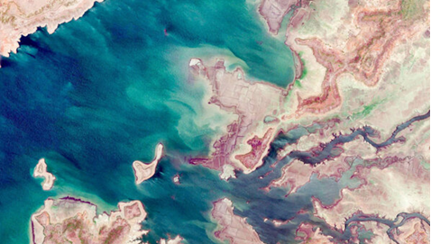 دادههای ماهوارهای از تغییر سطح آب ۱۰ تالاب و دریاچه کشور