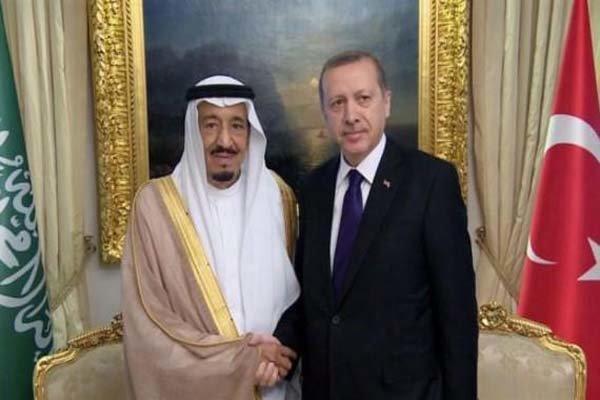 اردوغان و ملک سلمان تلفنی گفتگو کردند
