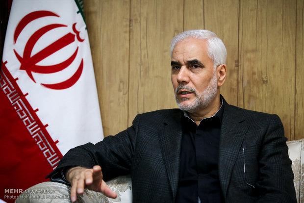 رنگ فیروزهای، نماد ستاد انتخاباتی محسن مهرعلیزاده شد