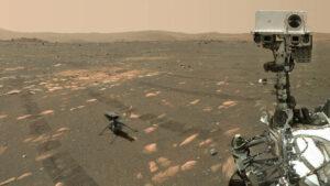 هلی کوپتر مریخی ناسا