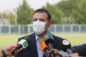 رئیس فدراسیون فوتبال ایران