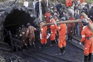 ریزش معدن زغال سنگ